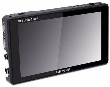 Monitor podglądowy Feelworld LUT6S - HDR/3D LUT 3G SDI Ultra Bright 2600nit + bateria Newell NP-F570