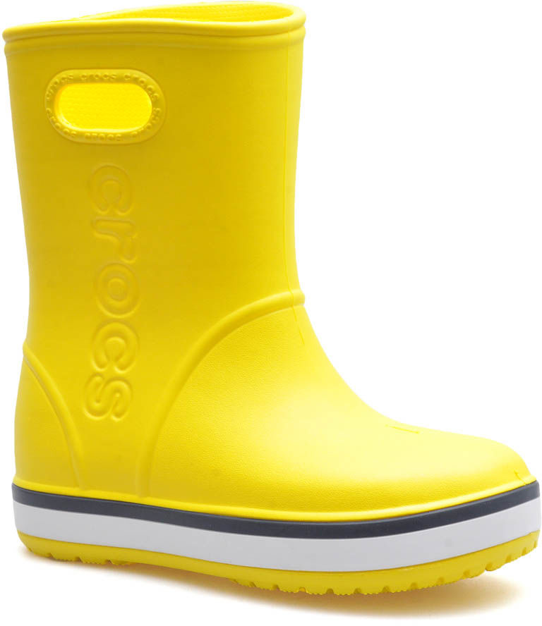 Kalosze Crocs 205827/734 Żółte/Granatowe