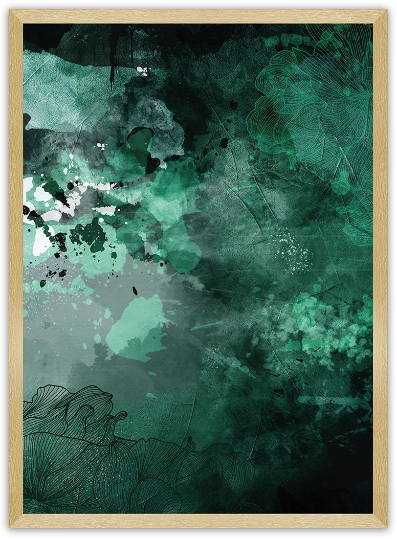 Plakat Abstract I