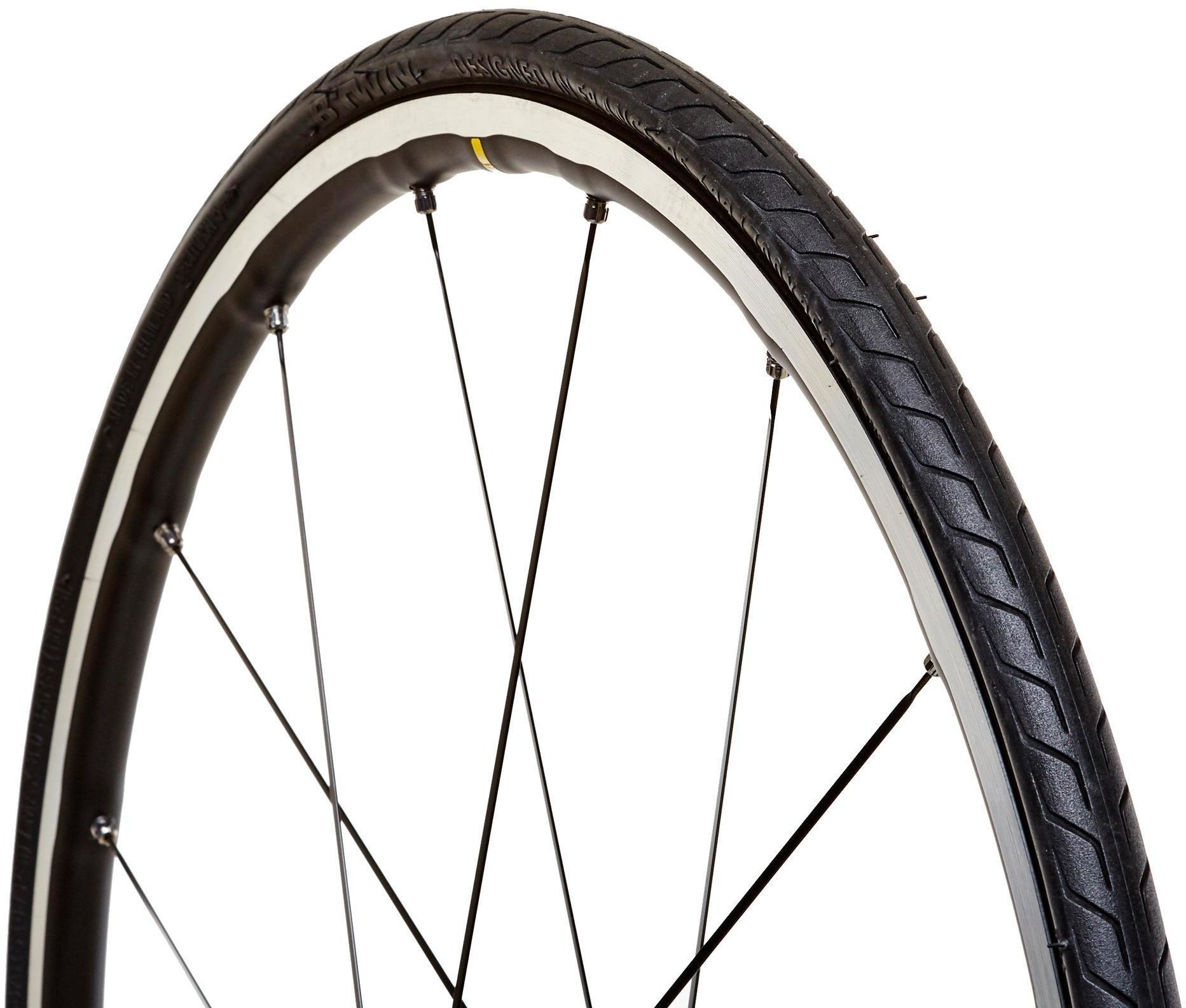 Opona do roweru szosowego TRIBAN PROTECT 700 X 25 ze sztywną stopką/ETRTO 25-622