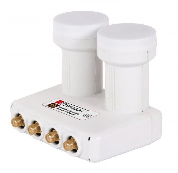 Konwerter opticum monoblock quad lmqp-04h - możliwość montażu - zadzwoń: 34 333 57 04 - 37 sklepów w całej polsce
