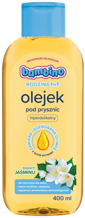 BAMBINO RODZINA Olejek pod prysznic jaśmin 400 ml