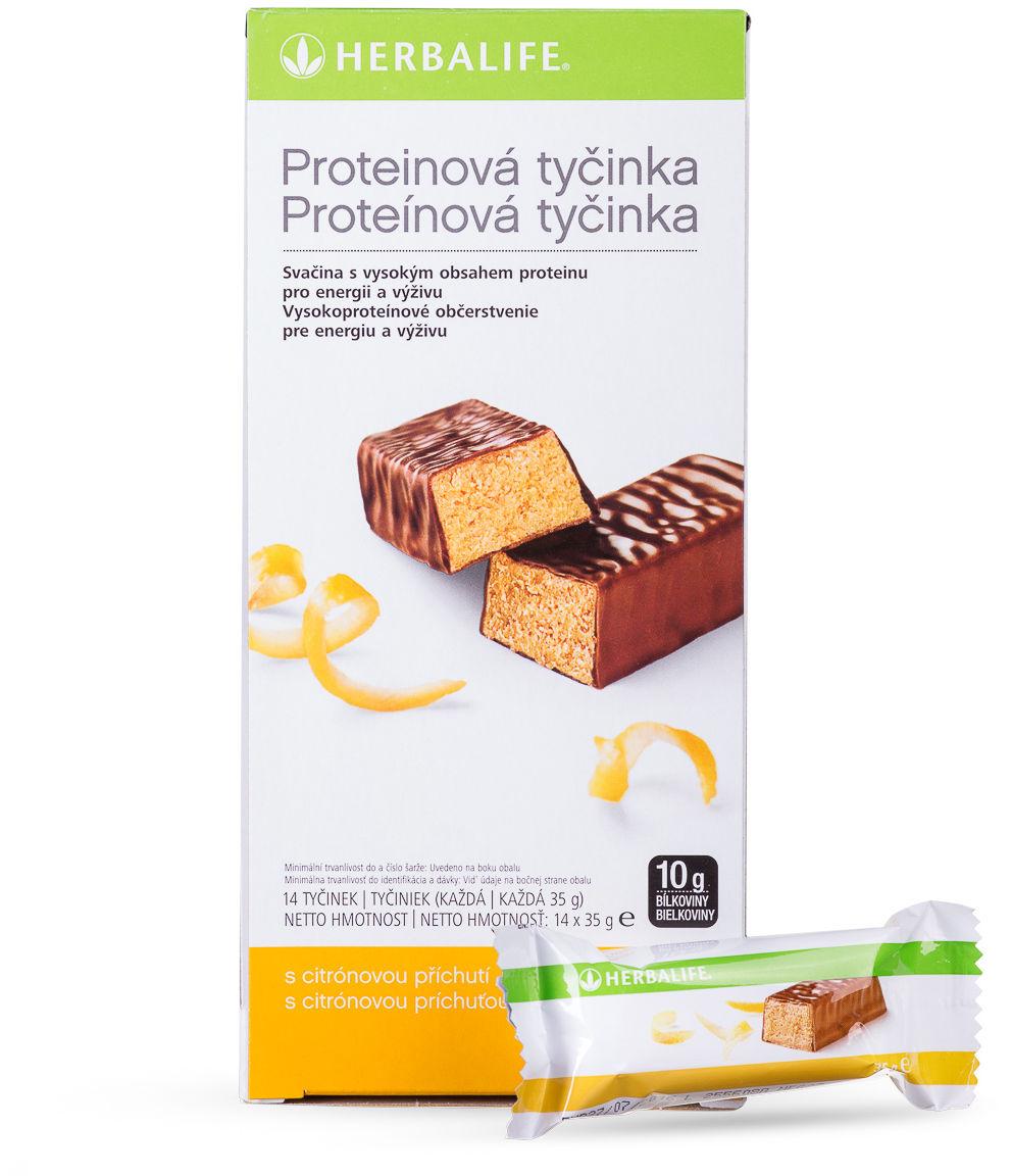 Baton proteinowy - 14 batonów x 35 g cytrynowy