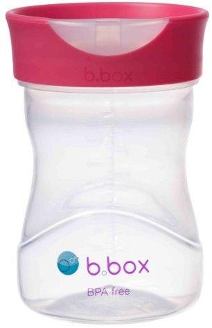 B.box - Kubek Treningowy 240 ml, Malinowy