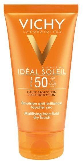 Vichy Capital Soleil ochronny krem matujący do twarzy SPF 50 50 g