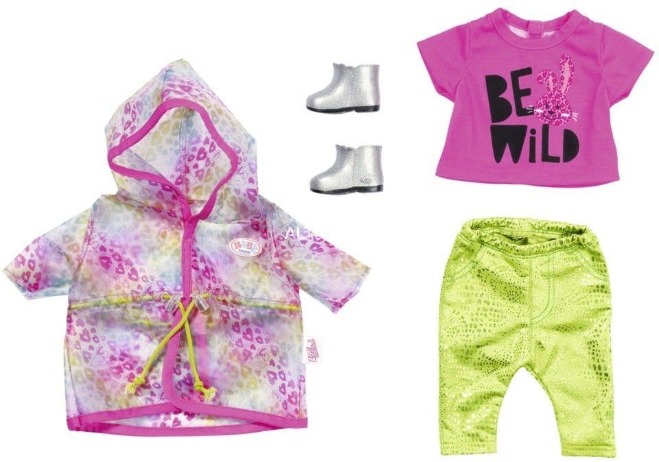 BABY Born - Zestaw ubranek na deszczowe dni dla lalki 43 cm 828328
