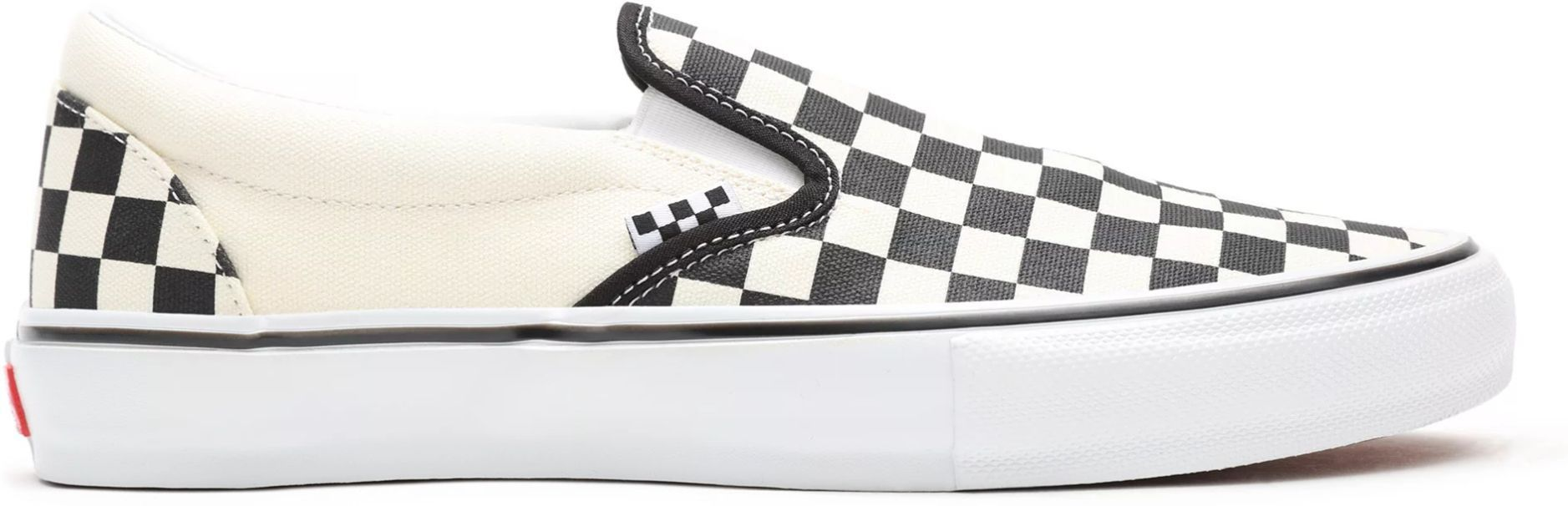 obuwie VANS SKATE SLIP-ON (CHECKERBOARD) Black/Off White