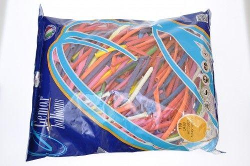 Balony do modelowania mix kolorów GODAN