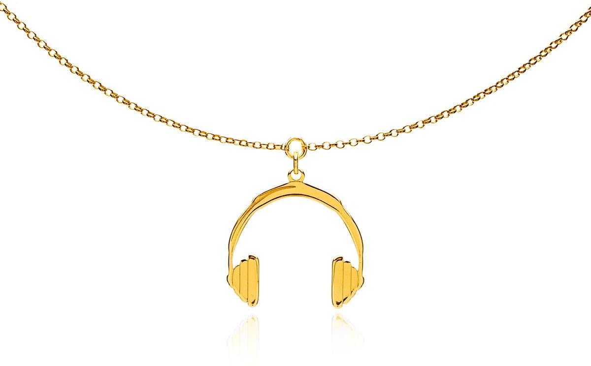 Naszyjnik słuchawki