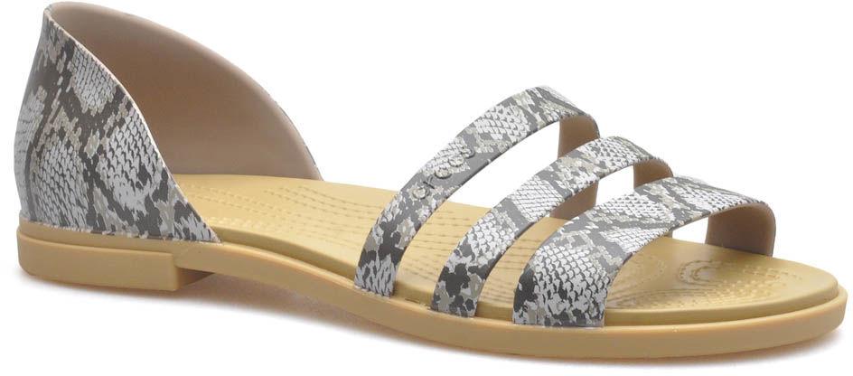 Sandały Crocs 206109/15W Brązowe