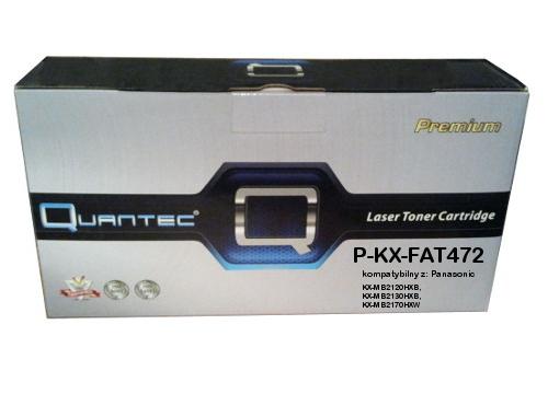 zastępczy toner Panasonic [KX-FAT472X] black