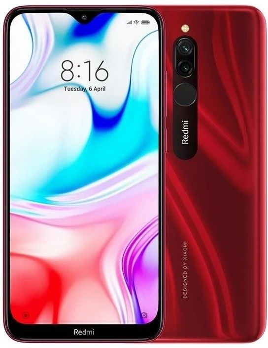 Xiaomi Redmi 8 4/64GB Snap 439 Ruby Red Eu