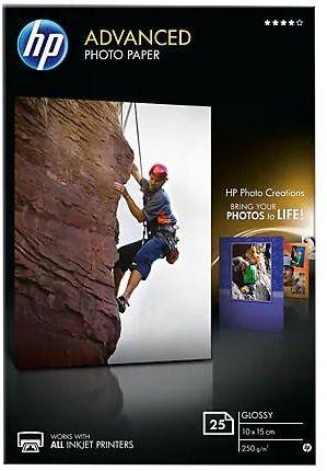 Papier HP Advanced Glossy Photo - 250g - 10x15cm - 25szt. - Błyszczący