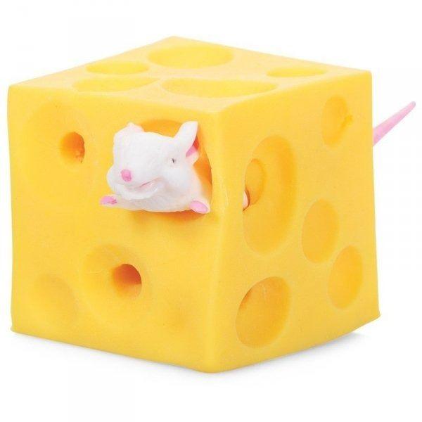 Gniotek rozciągliwy ser z myszkami