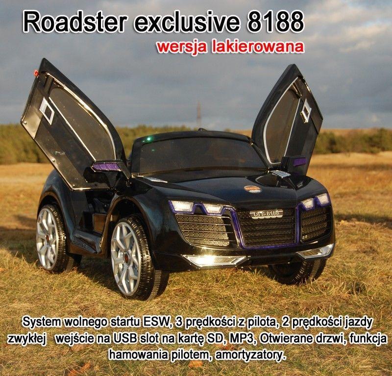 AUTO ROADSTER EXCLUSIVE LAKIEROWANY, WOLNY START/QLS8188