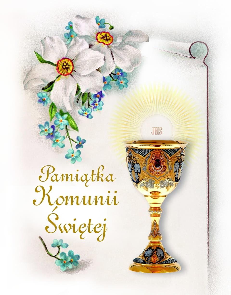 Pamiątka Komunii Świętej