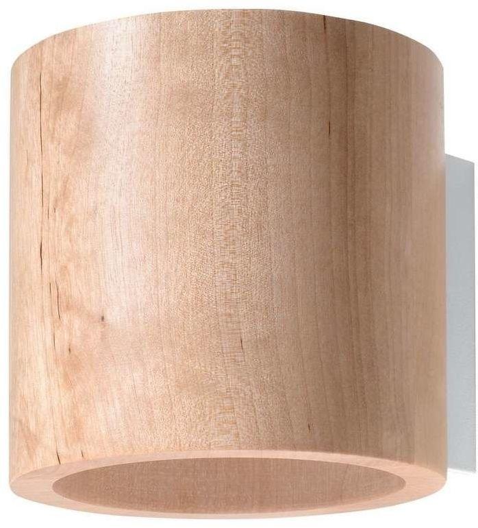 Sollux - kinkiet orbis naturalne drewno