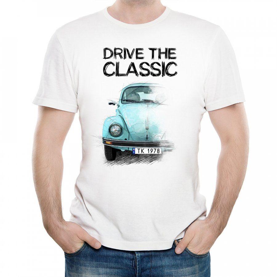 Koszulka Męska z Nadrukiem fana Volkswagen Garbus