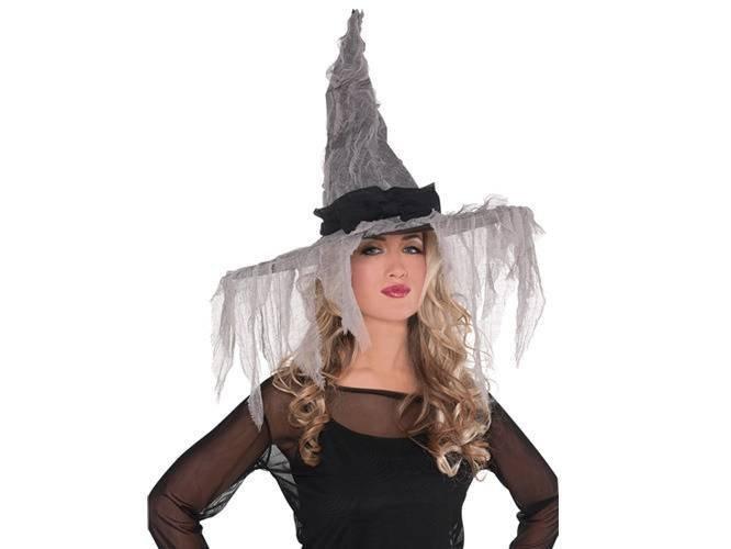 Kapelusz czarownicy na Halloween - 1 szt.