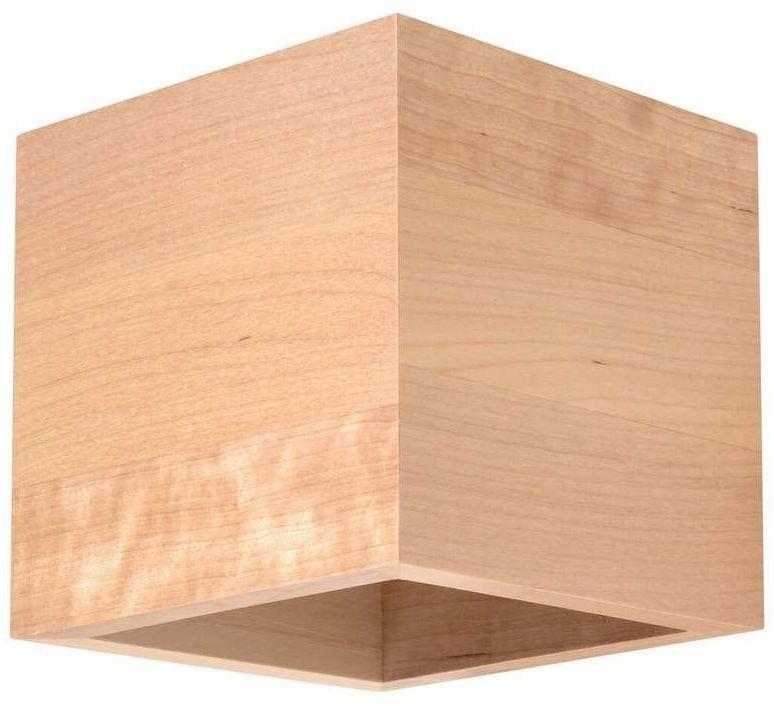 Sollux - kinkiet quad naturalne drewno
