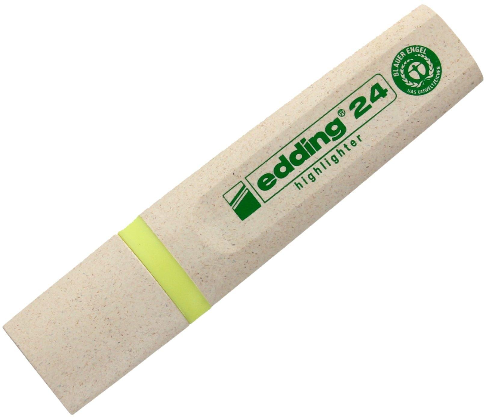 Zakreślacz żółty Edding 24 EcoLine