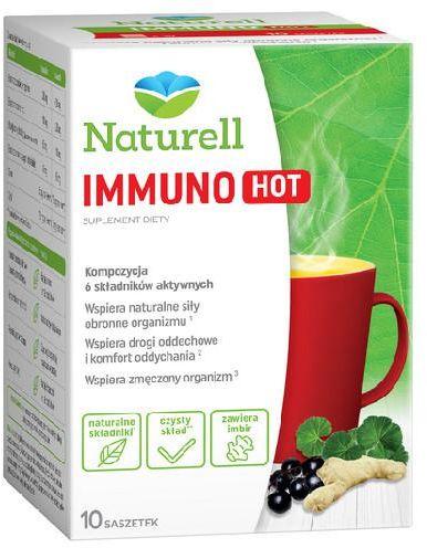 Naturell Immuno Hot 10 saszetek + Naturell witamina C dla dzieci 20tabl.
