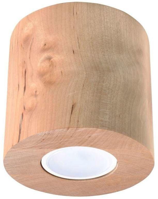 Sollux - plafon orbis naturalne drewno