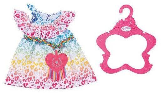 BABY Born - Kolorowa sukienka Leo dla lalki 43 cm 829219