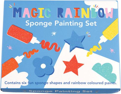 Rex London - Zestaw do Malowania Gąbką, Magiczna Tęcza