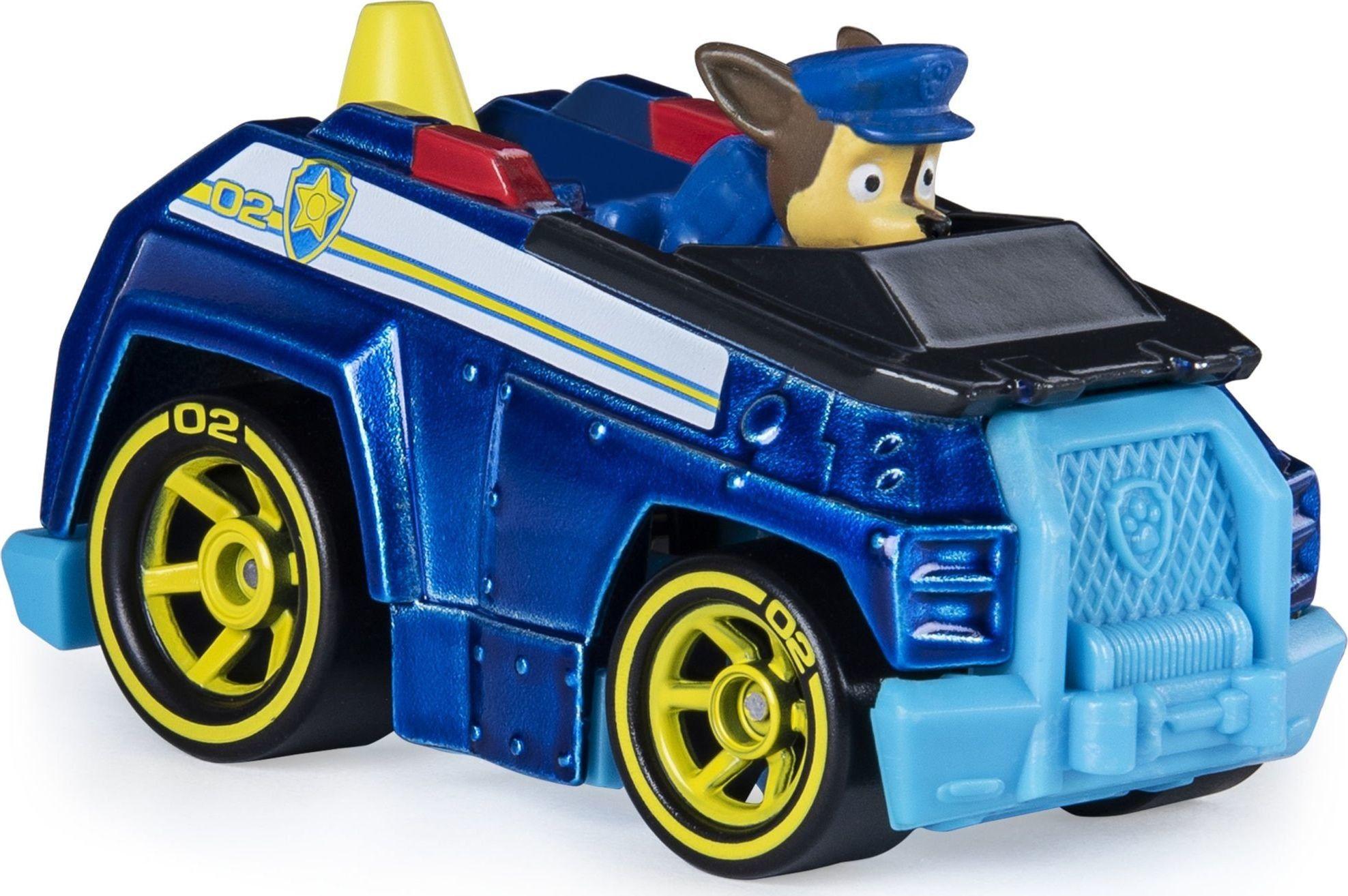 Psi Patrol - Skye i jej pojazd True Metal Mighty Pups 20121386 6053257