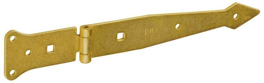 Zawias rzutnikowy 200 x 80 x 50 x 2,5 mm metalowy ocynkowany DOMAX
