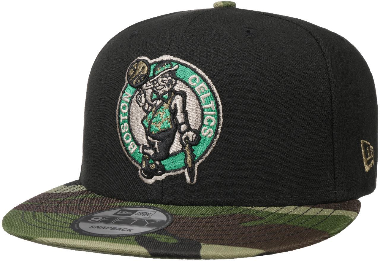 Czapka 9Fifty ASTAG Camo Celtics by New Era, czarny, One Size