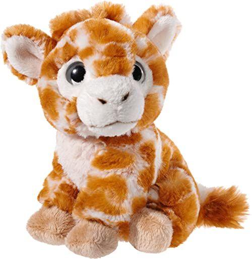 Heunec 275478 pluszowe zwierzątko, żyrafa, oryginalna poplamiona