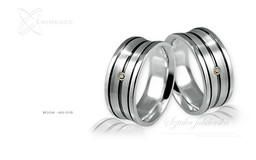 Obrączki srebrne - wzór Ag-018