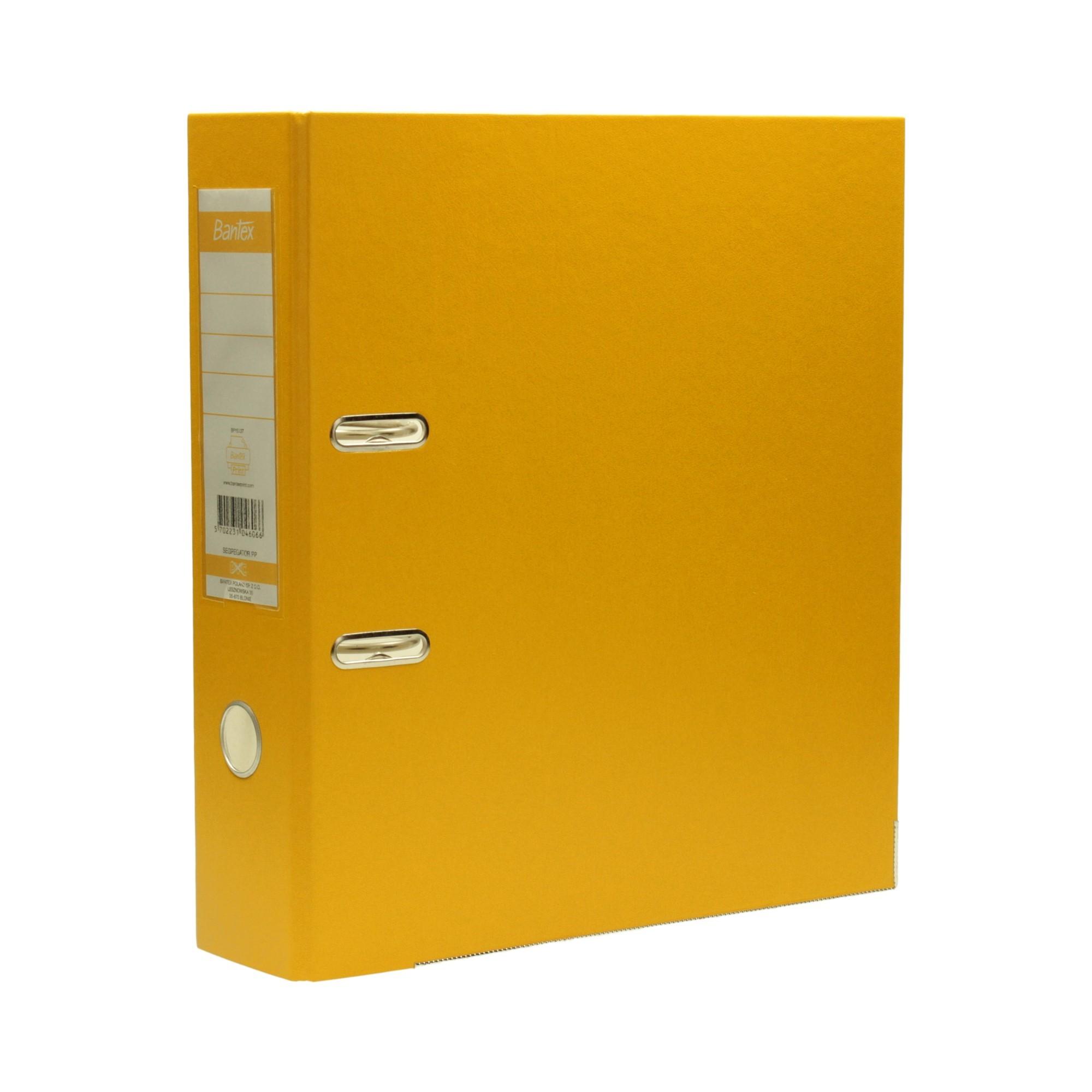 Segregator A4/80 żółty XXL Bantex 104606