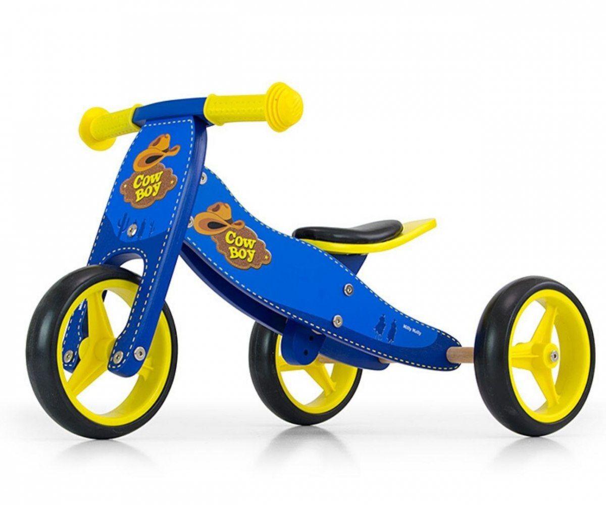 Milly Mally Pojazd Jake 2w1 Blue Cowboy