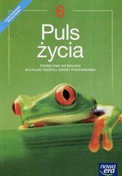 Biologia puls życia podręcznik dla klasy 6 szkoły podstawowej 64622 844/2/2019 ZAKŁADKA DO KSIĄŻEK GRATIS DO KAŻDEGO ZAMÓWIENIA