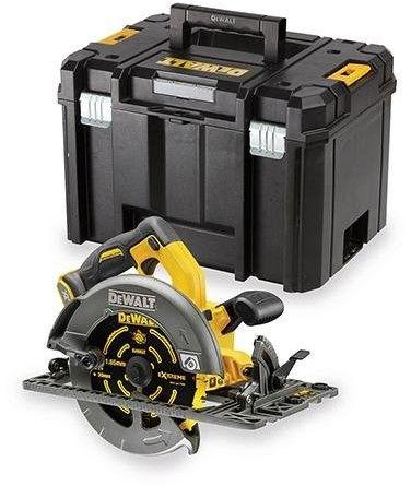 akumulatorowa pilarka tarczowa kompatybilna z prowadnicami 190mm, 54V Li-lon, serii FlexVolt, DeWalt [DCS576NT-XJ]
