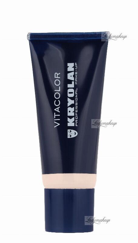 KRYOLAN - VITACOLOR - Cream Foundation With High Covering Powder - Mocno kryjący podkład - 40 ml - ART. 1021 - 1 W
