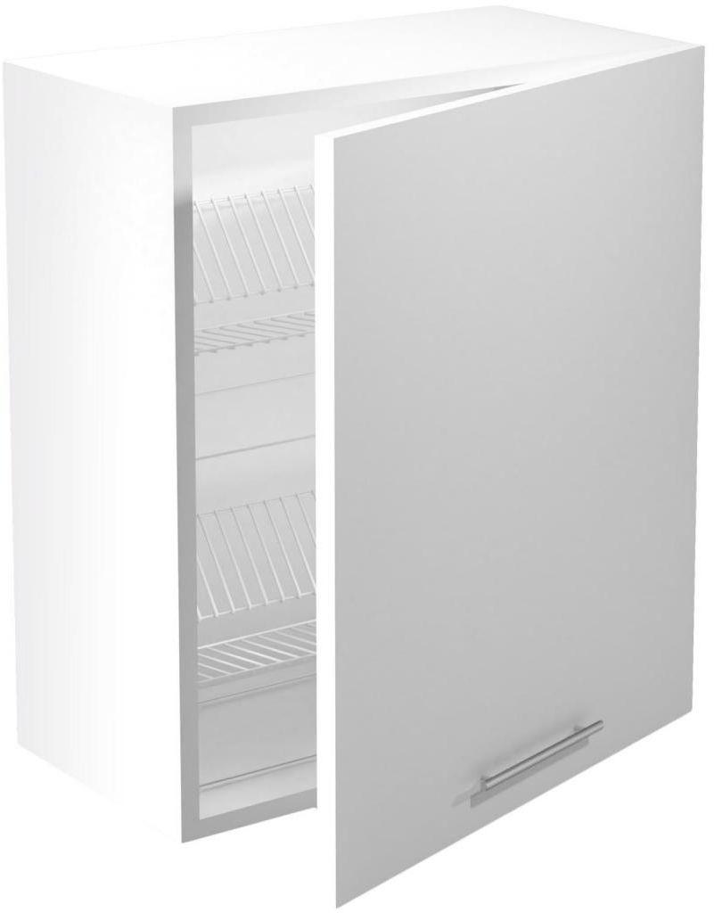 VENTO GC-60/72 szafka górna z ociekaczem, front: biały Halmar