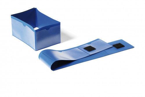 Kieszeń magazynowa 145 x 75mm opaska na palety DURABLE niebieska 50szt. 1724 07