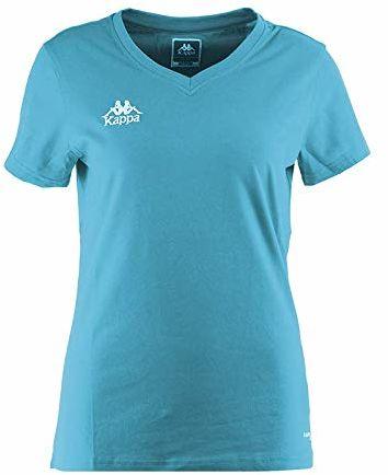 Kappa Tabbiano T-shirt, damski, turkusowy, XS