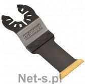 brzeszczot do narzędzi wielofunkcyjnych z powłoką tytanową, 43x30mm, do cięcia metalu, DeWalt [DT20707-QZ]