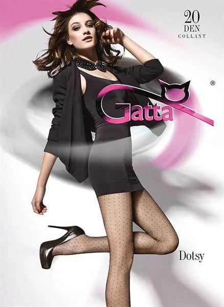 Gatta Dotsy 01 - Tights Nero 4-L