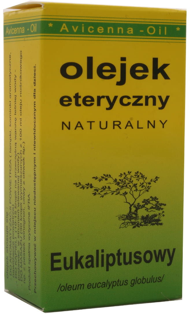 Olejek eteryczny naturalny eukaliptusowy - Avicenna-Oil - 7ml
