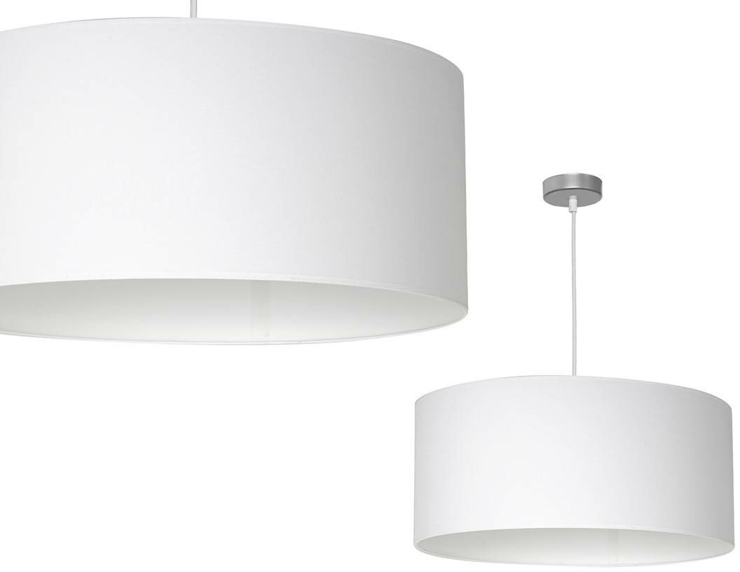 Lampa wisząca CASINO WHITE/CHROME 1xE27