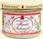 Smalczyk wegański z migdałami bezglutenowy BIO 165g Zwergenwiese