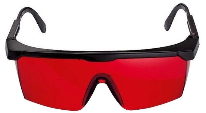 Okulary laserowe z filtrem czerwonym