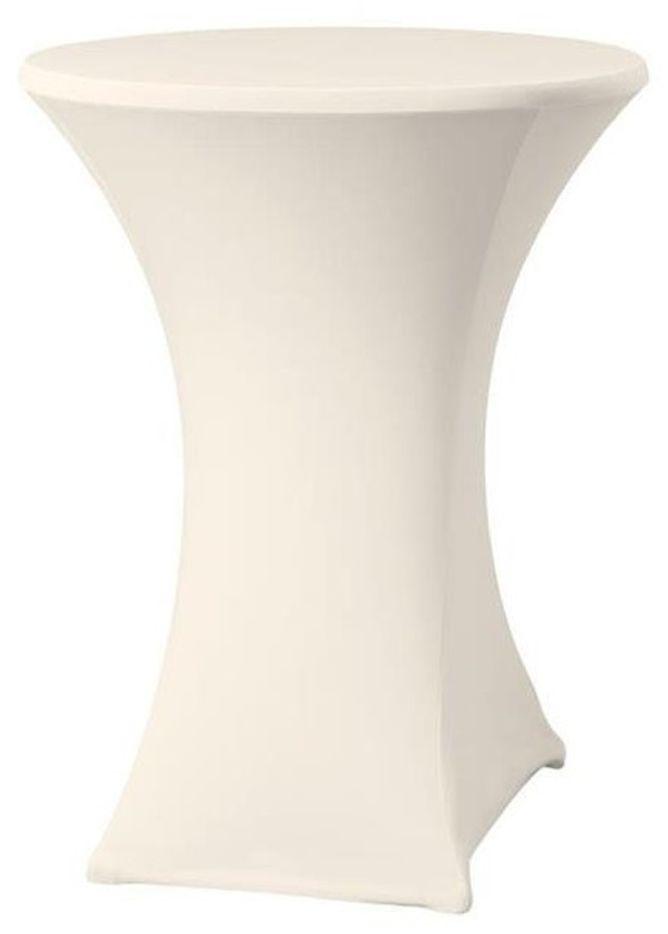 Pokrowiec na stół okrągły SYMPOSIUM biały