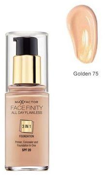 Max Factor Facefinity All Day Flawless 3 in 1 Foundation 75 Golden Podkład - 30ml Do każdego zamówienia upominek gratis.